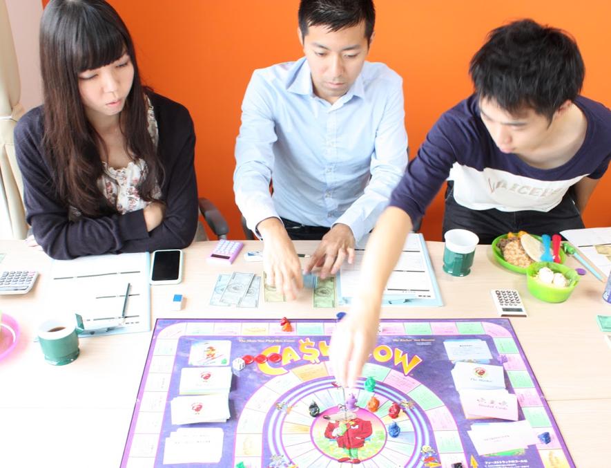《イベントレポート》朝から脳みそ活性化!ゲーム朝活! 〜キャッシュフローゲームで遊ぼう〜